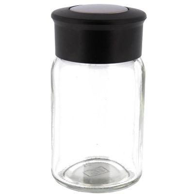 Especiero de vidrio cilíndrico