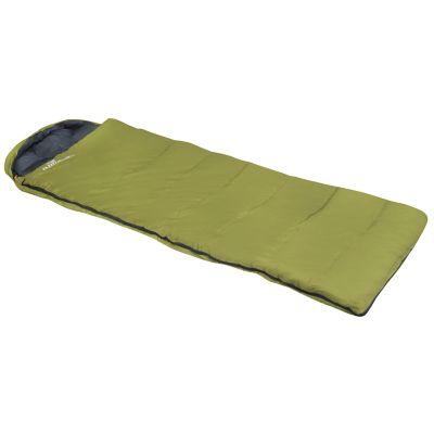 Bolsa de dormir color pistache con gorro