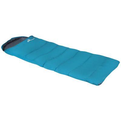 Bolsa de dormir color  turquesa con gorro