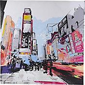 Lienzo NY Times Square 80x80 cm