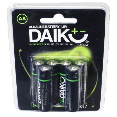 Pack Pila Alcalina Dairu 4+2 Aa