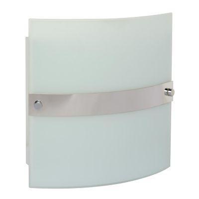 Arbotante Iker 60W blanco 1luz E27 vidrio 25cm