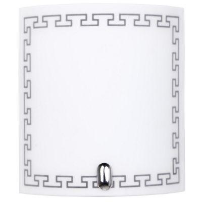 Arbotante Inca 60W blanco 1luz E27 vidrio 20cm