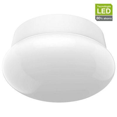 Plafon Led 13W Rosca blanco fría E27 1200lm plástico