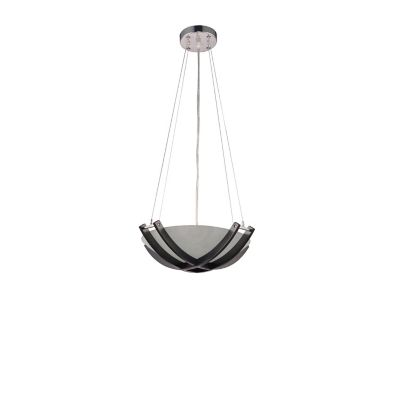 Lámpara techo 60W Jose blanco 2luces E27 vidrio 10cm