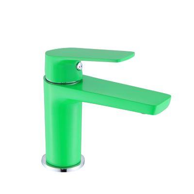 Monomando de lavabo Lucena verde