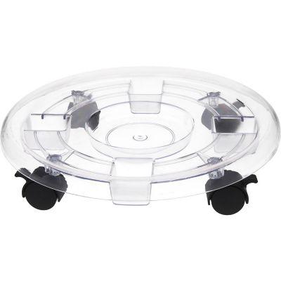 Base maceta plástica c/ruedas 38 cm