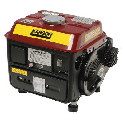Generador  portatil 720 W motor bencinero karson