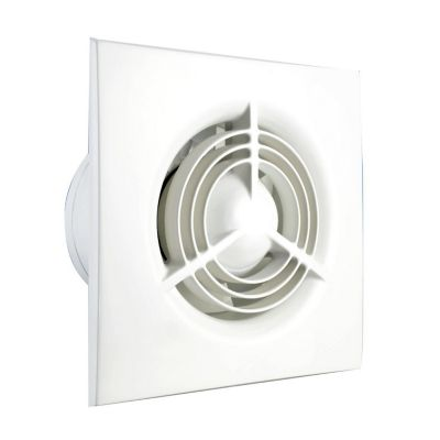Extractor para pared y techo 75 m3/h 4""