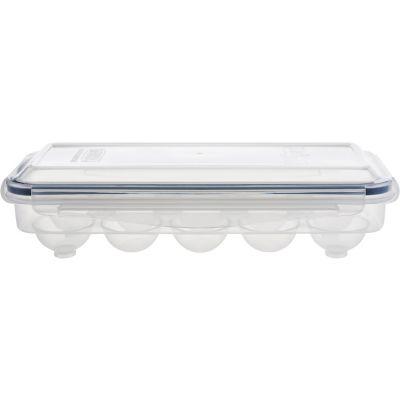 Contenedor de clip para 10 huevos plástico