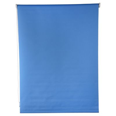 Persiana enrollable blackout azul 160x165 cm