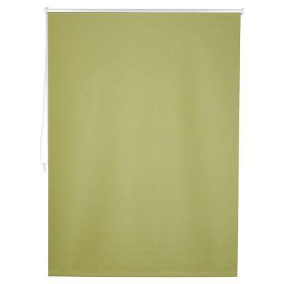 Persiana enrollable blackout verde 120x250 cm