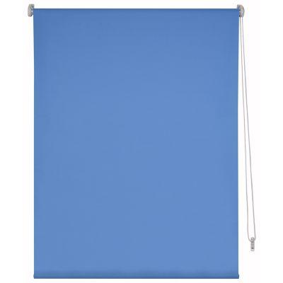 Persiana enrollable blackout azul 80x165 cm