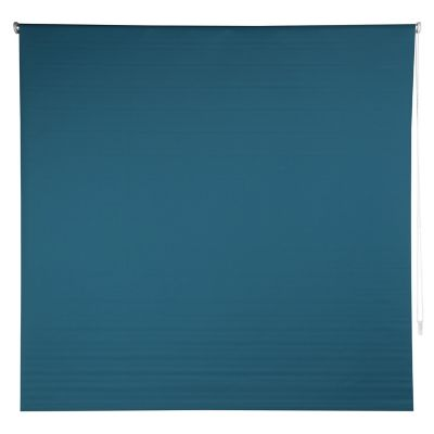 Persiana enrollable blackout turquesa 80x165 cm