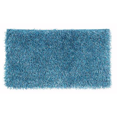 Pie de cama Visco azul 60x110 cm