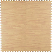 Tapete Puzzle tipo madera 60x60 cm
