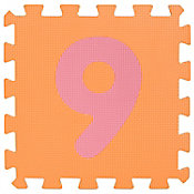 Tapete Puzzle Números 30x30 cm