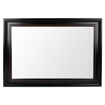 Espejo decorativo negro 78x108 cm