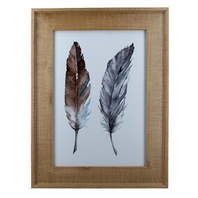 Marco de foto Wood dorado 21x30 cm