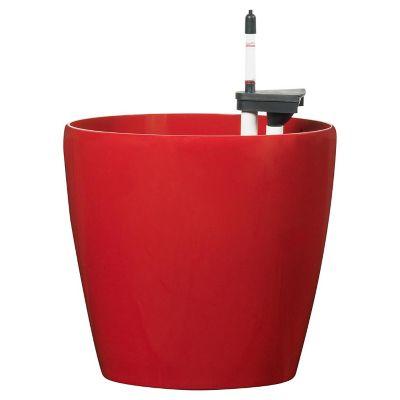 Maceta autorregante classic 32 x 30 cm rojo