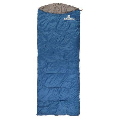 Bolsa de dormir color azul con gorro