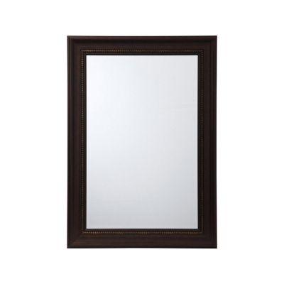 Espejo decorativo café 78x108 cm