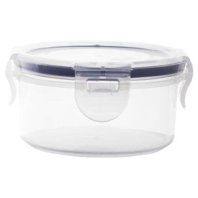 Contenedor redondo de clip 220 ml plástico