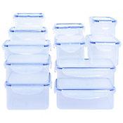 Set contenedores de clip 11 piezas plástico