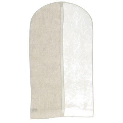 Funda blanca para ropa 60 x 100 cm