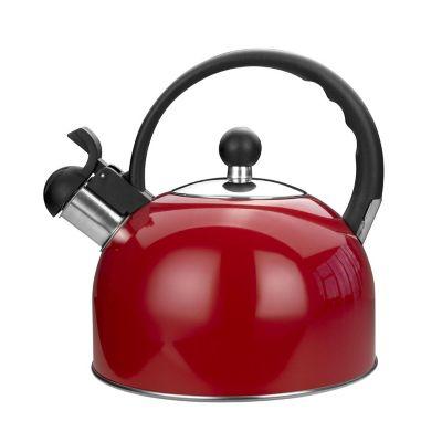 Tetera silbante acero colores surtidos 2.5 litros