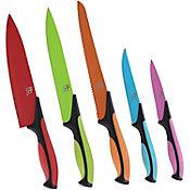 Set Cuchillos Acero Colores 5 pz