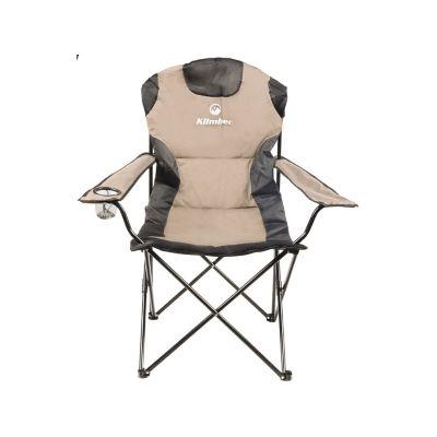 Silla plegable para camping Deluxe