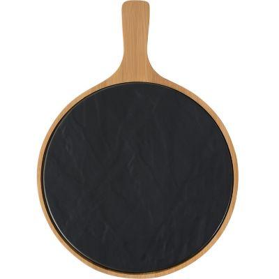 Tabla de porcelana c/bambú