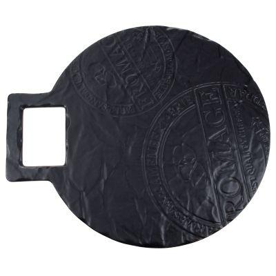 Tabla de porcelana circular