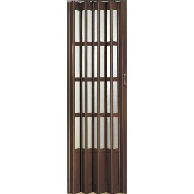 Puerta PVC chocolate 87 x 240 cm