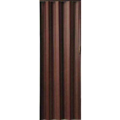 Puerta PVC 87 x 215 cm chocolate