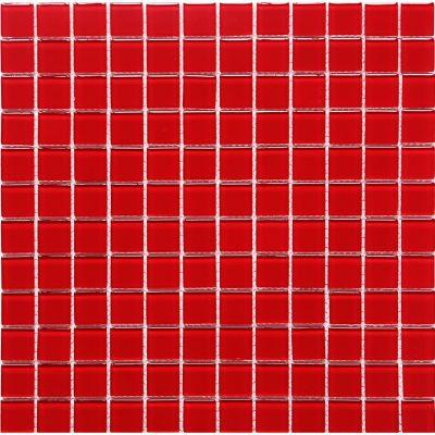 Malla vidrio rojo 30x30 cm