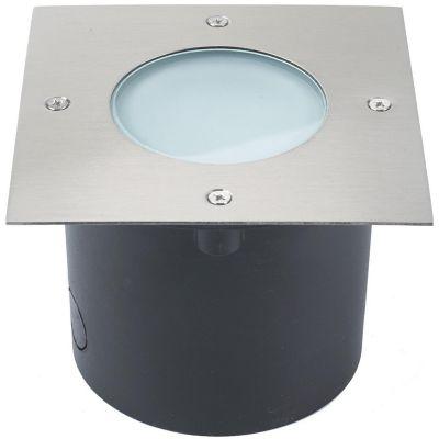 Empotrado exterior led 7W Siem plata 700lm metal IP44 8.5cm