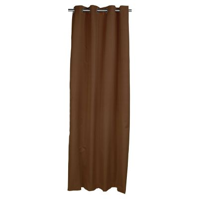 Cortina Blackout chocolate 140x220 cm