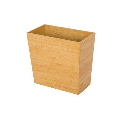 Bote de basura de bambú