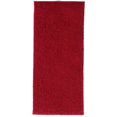 Pie de cama Shaggy Conrad rojo 50x110 cm