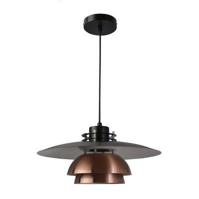 Lámpara colgante 40W Rich cobre 1luz E27 trend metal 40cm