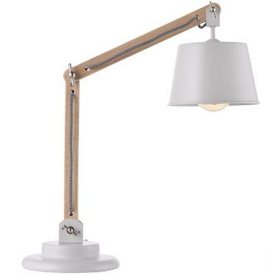 Lámpara mesa 40W Teul natural 1luz E27 trend 20cm