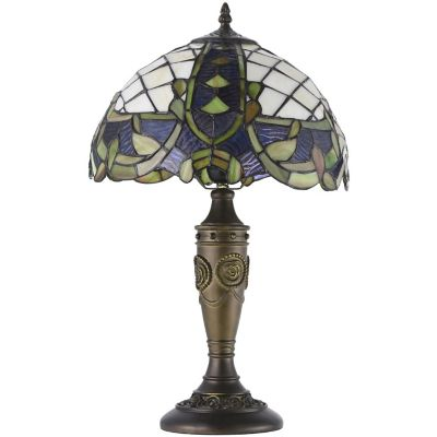 Lámpara mesa 40W Bacalar Multi 1luz E27 vidrio 40cm
