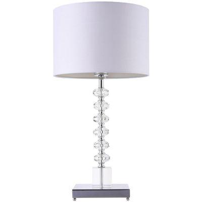 Lámpara mesa 40W Huichapan 1luz E27 vidrio 35cm