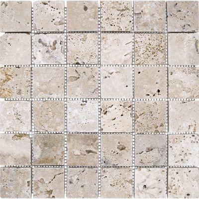 Malla Mosaico Travert Class 4.8x4.8 cm