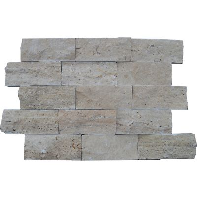 Muro Travertine Walnut Split