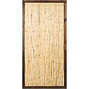 Panel bamboo varas con marco