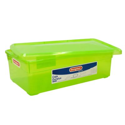 Caja Duralux mediana verde 9.8 lt