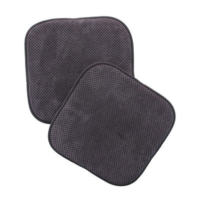 Set cojines para silla gris 40x40 cm
